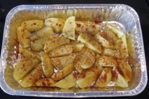 Så er kartoflerne klar til grillen